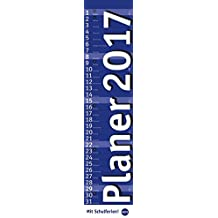 Planer long, blau - Kalender 2017