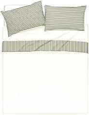 Completo letto lenzuola bordo e federe stampa digitale 100% cotone Made in Italy MATRIMONIALE Riga Mini Tortor