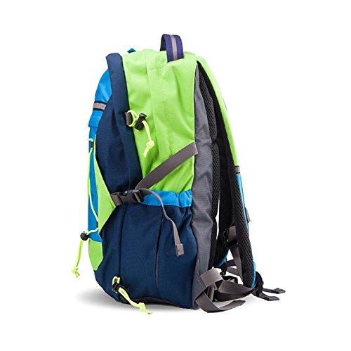 LF&F Backpack Hochwertiges Nylon College-Studenten-Tasche Wasserdichter Outdoor-Reise-Rucksack Freizeit Klettern Bergsteigen GepäCk Tasche Jugendliche Jeden Tag Verwenden B