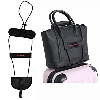 Bag Bungee Carrying On Luggage cAoku Adjustable Belt Add A Bag Strap Carry On Travel Luggage Suitcase With Elastic Strapping