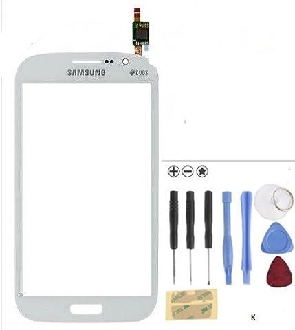 Kongkong - Écran tactile en verre pour Samsung Galaxy Grand Neo Plus GT I9060I - Noir