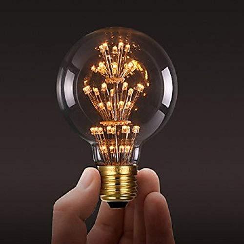 G95 3 W E27 Schrauben Vintage Globe LED Glühbirnen Antike Edison Stil Star Glühbirnen Weihnachtsdekoration warmweiß Industrieller Stil -