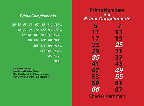 Prime Numbers via Prime Complements (English Edition) eBook ...