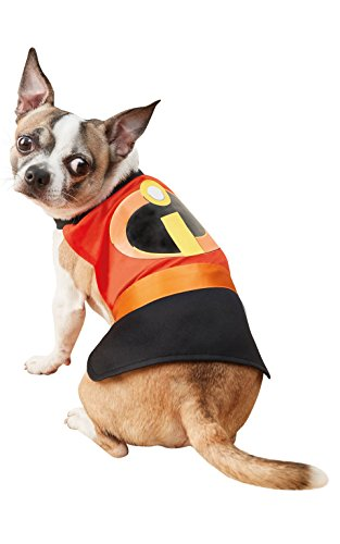Rubie 's Disney Incredibles 2 Offizielles Hund Pet Kostüm, groß (Halloween Film-logo 2)