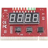 Moelissa PC 4 Digit Diagnostic Analyzer Card Motherboard Tester
