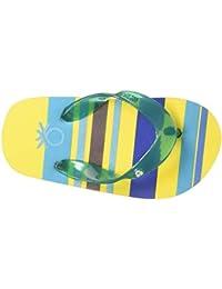 United Colors of Benetton Unisex Kid's Yellow Flip-Flops-4 UK (23 EU) (17A8CFFPU847I)