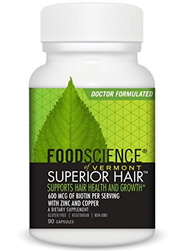 Food Science of Vermont Superior Hair Capsules, 90 Count