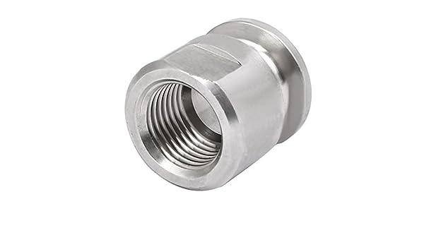 DealMux 80mmx15mmx2.2mm Wei/ß verzinkt Doppelhaken-Verl/ängerung Zugfeder-Silber-Ton