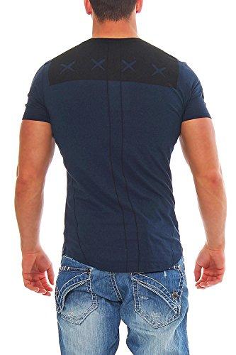 Religion Herren T-Shirt ROLL YOUR WEED - Navy