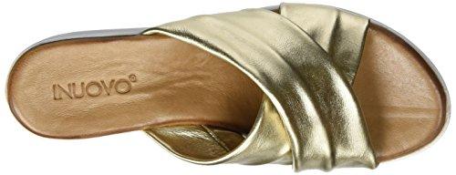 Inuovo 7111, Scarpe con plateau Donna Oro (gold)