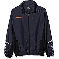Hummel Niños AUTH. Charge Functional Jacket Chaqueta, Otoño-Invierno, Infantil, Color Ombre Blue/Nasturtium, tamaño 140-152