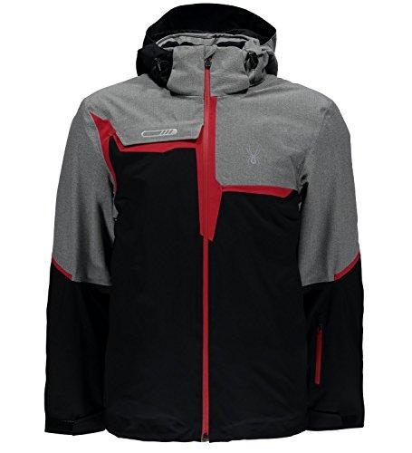 Spyder QUEST Zermatt Herren Ski Jacke schwarz XL