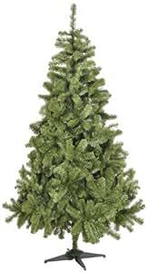 Snowtime CT04149AM Künstlicher Weihnachtsbaum Slim Colorado Spruce 180 cm Aufbiegbar PVC