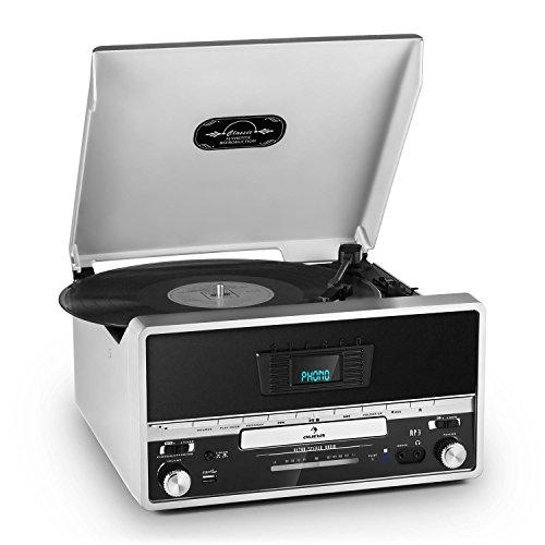 auna-rtt-1922-stereoanlage-plattenspieler-mp3-fahiger-usb-slot-mp3-cd-player-ukw-radio-aux-aufnahmef