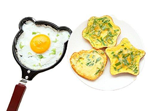 Panino da friggitrice in acciaio inox Mini uova fritte Pentole da cucina Pentole da frittate Stoviglie