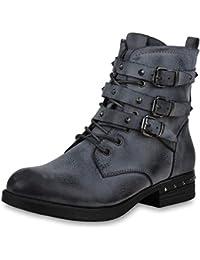 3a1f77c40a34 Suchergebnis auf Amazon.de für  mit Schnur - Stiefel   Stiefeletten ...