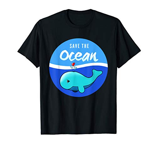Save The Ocean Shirt Plastic Pollution Whale Reef TShirt