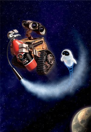 WALL E – US Textless Imported Movie Wall Poster Print - 30CM X 43CM Brand New Disney (Wall-e Poster)