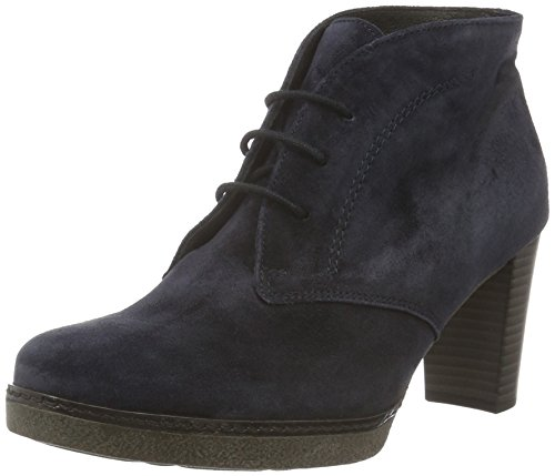 Gabor Shoes 55.750 Damen Kurzschaft Stiefel, Blau (Pazifik 16), 40 EU (6.5 Damen UK) (Platform Ankle Heel Boot)