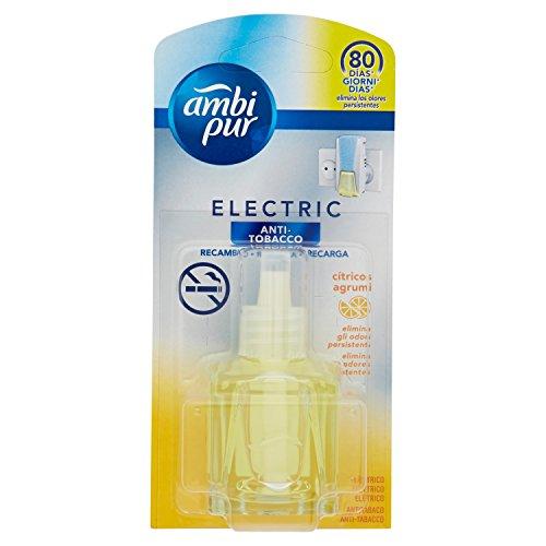 Ambi Pur Eléctrico Ambientador Recambio Anti-Tabaco - 22 ml