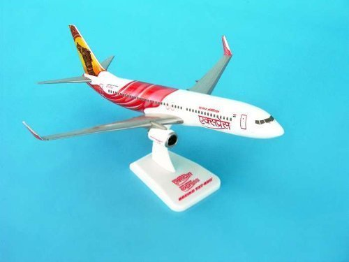 daron-hogan-air-india-express-737-800w-reg-vt-axa-model-kit-with-gear-1-200-scale-by-daron