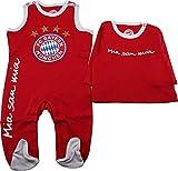 FC Bayern München Baby Strampler Logo 50-56