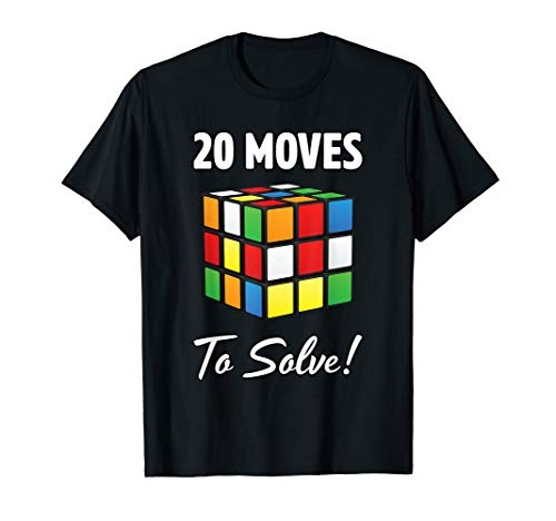 Rubik Cube Math Algorithm Lustige Vatertags-Geschenk T-Shirt