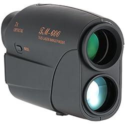 Docooler Télémètre Extérieur Télémètre 600M de Golf Chasse Testeur de Vitesse de Mesure de Distance du Télescope Monoculaire