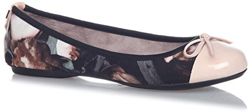 Butterfly Twists Olivia Floral, Ballerines Bout Fermé Femme Multicolore