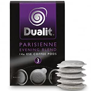 Dualit Parisienne Evening Blend Coffee Pods (Pack of 14)