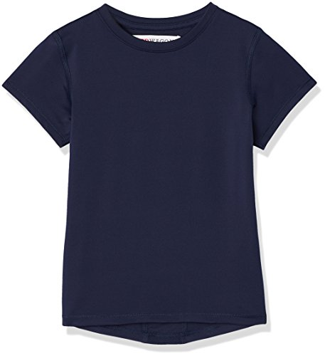 RED WAGON Mädchen Atmungsaktives Sport T-Shirt, Blau (Navy), 104 (Herstellergröße: 4 Jahre) (4 Kinder-t-shirt)
