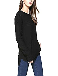 Mujer Knitting Blusa Su¨¦Teres Front Short Pullovers Manga Larga Suelta Casual Winter Cashmere