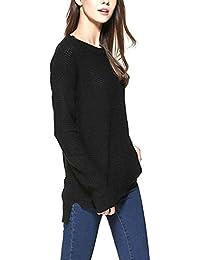 Mujer Knitting Blusa Su¨¦Teres Front Short Pullovers Manga Larga Suelta Casual Winter Cashmere