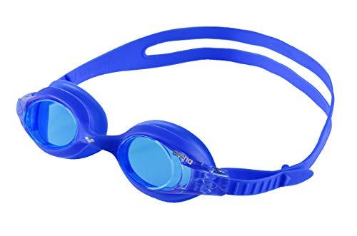 arena Kinder Unisex Training Freizeit Schwimmbrille X Lite Kids (UV-Schutz, Anti-Fog, Harte Gläser), mehrfarbig (Blue-Blue), One Size