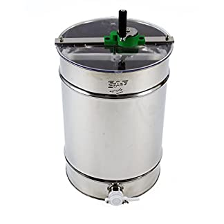 Stainless steel Honey Extractor (Manual 4 frame) from Easipet (00127A) 22