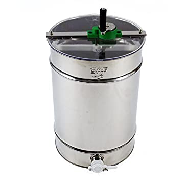 Stainless steel Honey Extractor (Manual 4 frame) from Easipet (00127A)