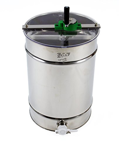 Stainless steel Honey Extractor (Manual 4 frame) from Easipet (00127A) 1
