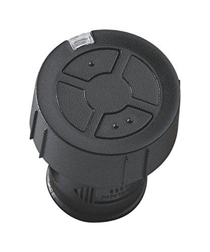 Hörmann Handsender HSZ2 868-BS, Garagentor-Öffner mit 2 Tastenfunktionen, Funkfernbedienung mit BiSecur-Funktechnik, schwarz, Art.-Nr. 436782