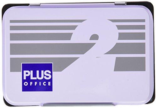 Plus Office 02 - Almohadillas para sellar nº 2, 80 x 120 mm, negro