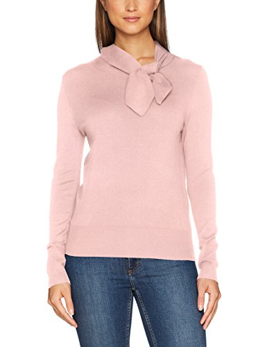 Comma Damen Pullover 81711612597, Rosa (Rose 4254), 38