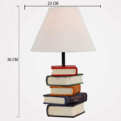 Buchstapel Lampe