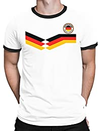 Tee Spirit Deutschland Germany Camiseta Para Hombre World Cup 2018 Fútbol New Style Retro
