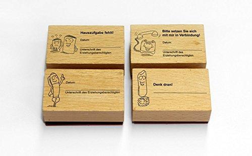 (Das Grundschul-Kontaktstempel-Set: Elternkontakt kinderleicht - mit 4 ansprechenden Stempeln (1. bis 4. Klasse))