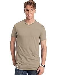 Hanes Homme Nano Premium Coton T-Shirt à col en V (Lot ... 55f0a7b245e1