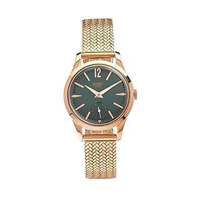 Henry de Londres Unisex Reloj de pulsera Stratford analógico de cuarzo Acero inoxidable HL3075CW de para de 0130 de Henry London