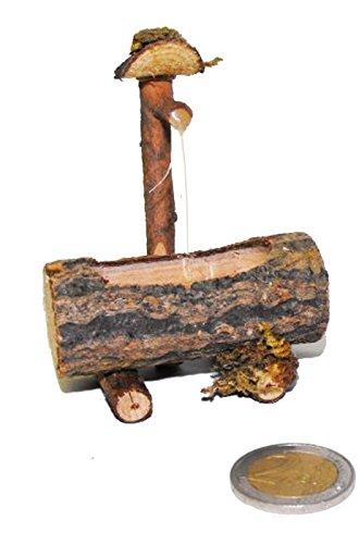 CARNIVALHALLOWEEN GENOVA Fontana abbeveratoio o truogolo in Legno per presepe,presepio, plastici modellismo o diorami. Realizzata a Mano. E\' statica. Non ha Pompe o Acqua Vera Corrente.