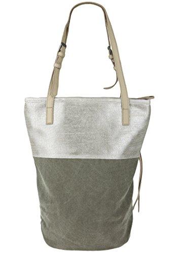 FREDsBRUDER 100-930 160, Borsa tote donna khaki/silver