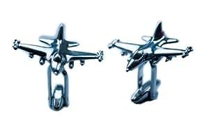Boutons de manchette Avion de combat F16
