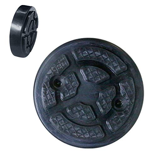SYN Wagenheber, hydraulischer Rahmenschutz, Zubehör, Gummi-Adapter, Universalscheibe, geschlitztes Werkzeug, runde Rampenschiene, Wie abgebildet, Free Size