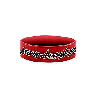 Asking Alexandria Wrist City offiziell Nue Rot Silicone Armband One Size